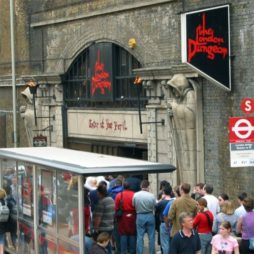 Poort van de London Dungeon