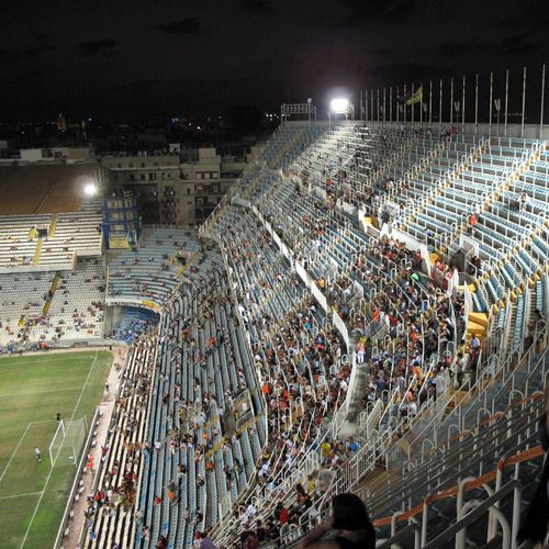Tribunes van Mestalla