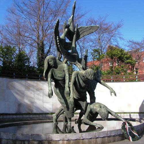 Beeld in de Garden of Remembrance