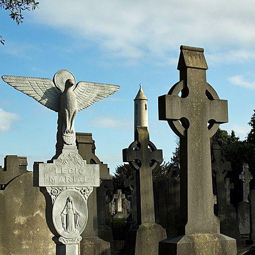 Grafstenen in Glasnevin Cemetery