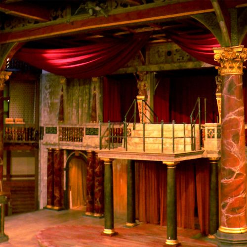 Podium van het Globe Theatre