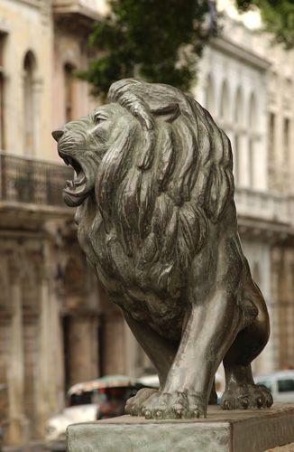 Sculptuur in Habana Vieja