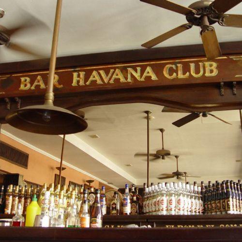 Bar in de Havana Club Foundation