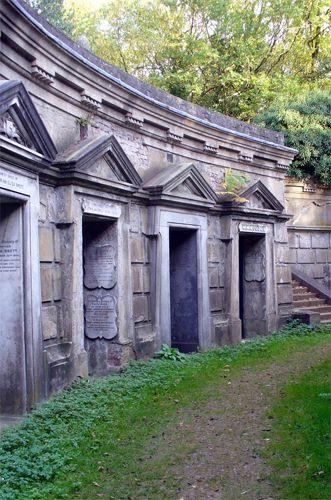 Tombes op Highgate Cemetery