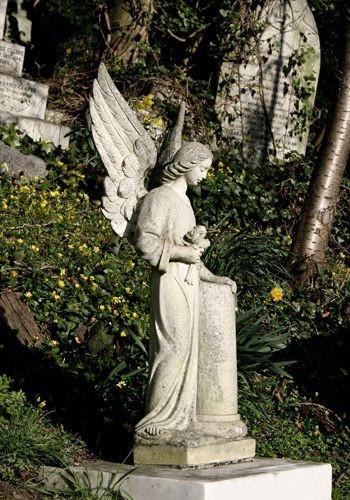 Beeld op Highgate Cemetery