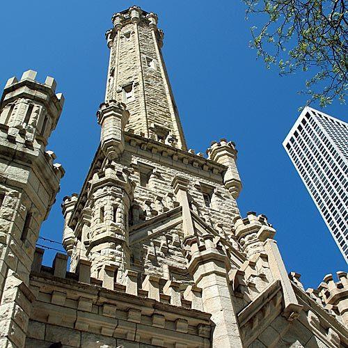 Beeld van de Historic Water Tower