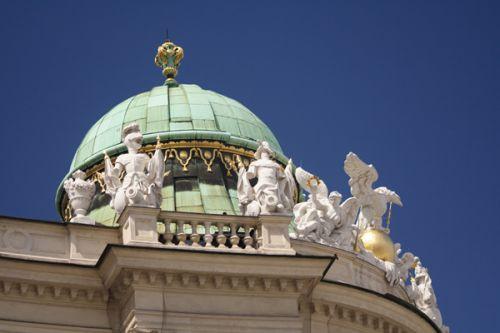 Koepel op de Hofburg