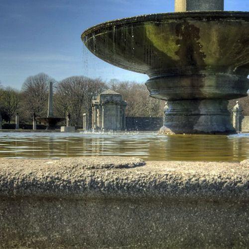 Fontein van de Irish National War Memorial Gardens