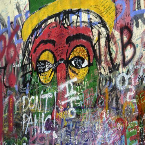 Stuk van de John Lennon-muur