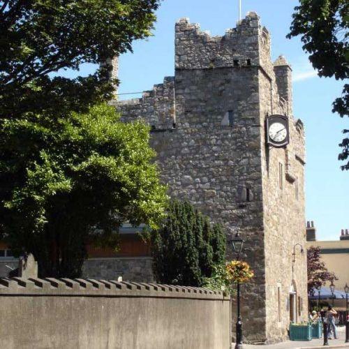Zicht op Dalkey Castle