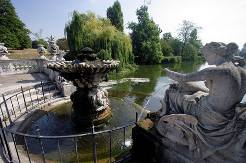 Fontein in Kensington Gardens