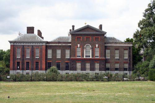 Voorkant van het Kensington Palace