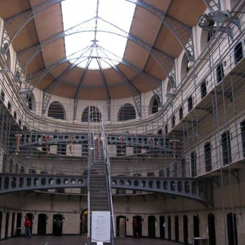 Cellen in Kilmainham Gaol