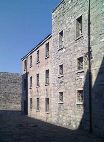 Muren van Kilmainham Gaol