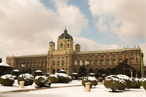 Overzicht op het Kunsthistorisches Museum