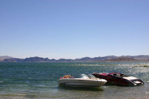 Bootjes bij Lake Mead