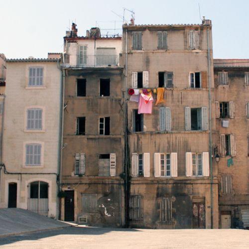 Gebouwen in Le Panier