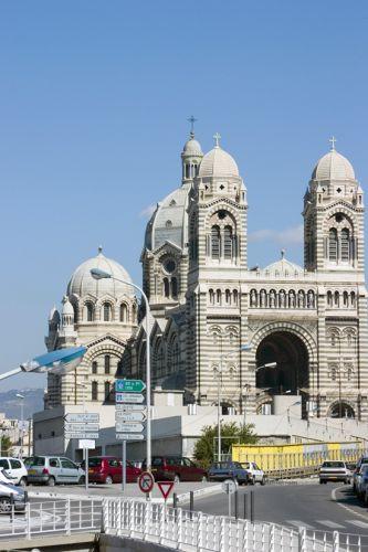 Vergezicht op de Cathédrale de la Major
