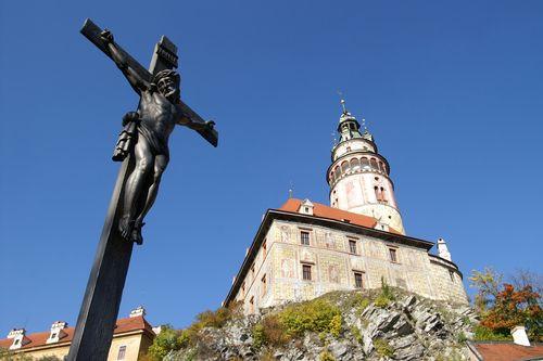 Kruisbeeld in Malá Strana