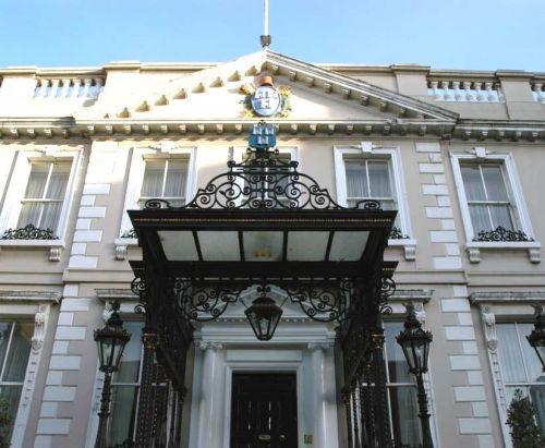 Deur van het Mansion House