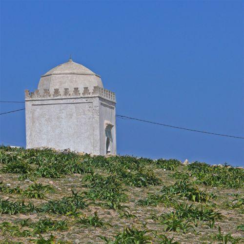 Grafgebouw op Marabout