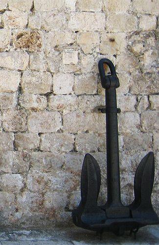 Anker in Dubrovnik