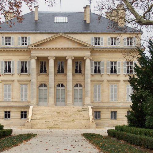 Voorgevel van het Musée des Arts et Métiers de la Vigne et du Vin