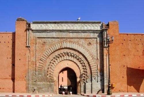 Poort in de Medina