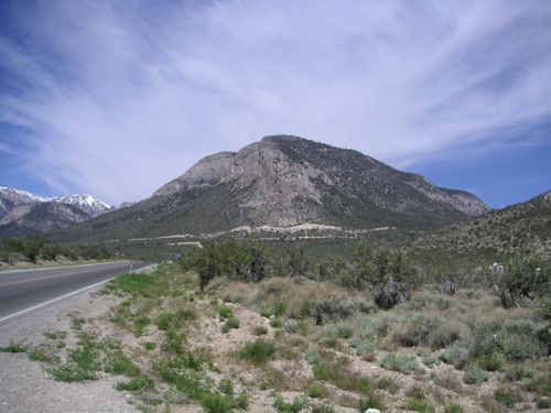 Totaalbeeld van Mount Charleston