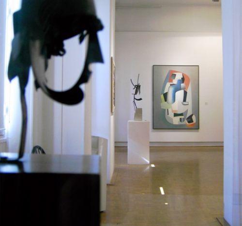 Binnen in het Musée Cantini
