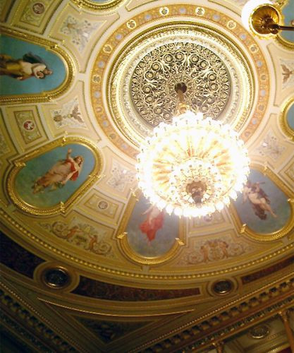 Interieur van het Nationaal Theater