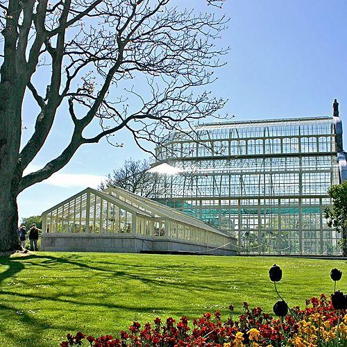 Serre in de National Botanic Gardens