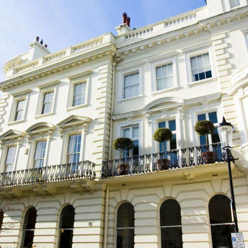 Gebouwen in Notting Hill