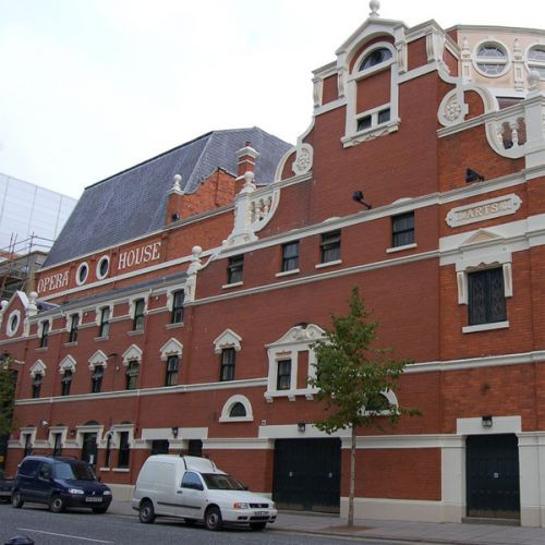 Zaal van de Staatsopera
