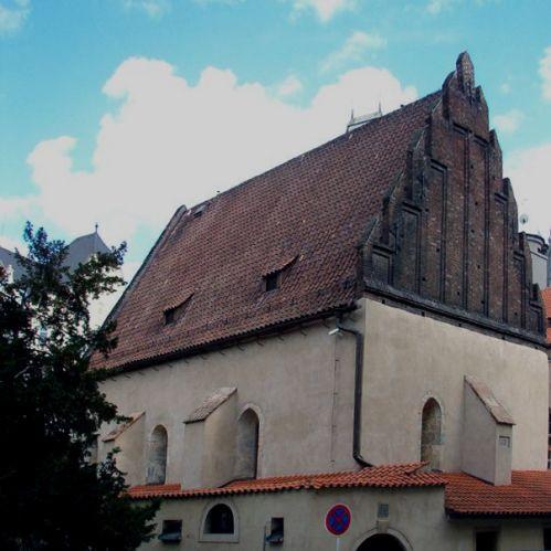 Zijkant van de Oud-nieuwsynagoge