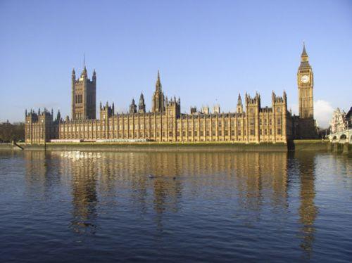 Totaalbeeld van het Palace of Westminster