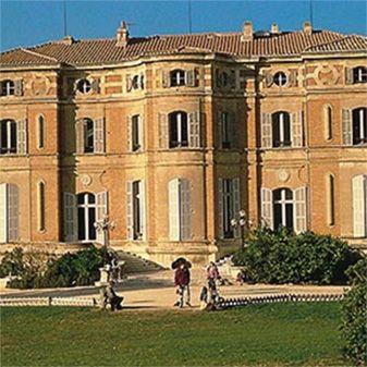 Zicht op het Château Pastré in Marseille