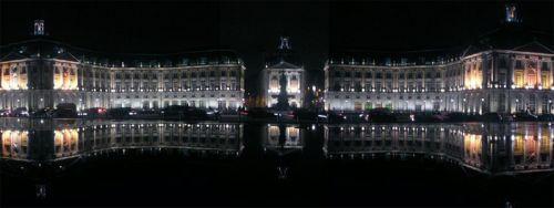 Totaalbeeld van de Place de la Bourse