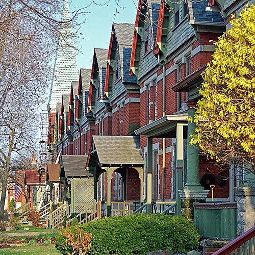 Huizen in het Pullman District