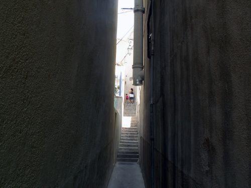 Steeg in de Quartier de l'Estaque