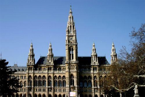 Gevel van het Neues Rathaus