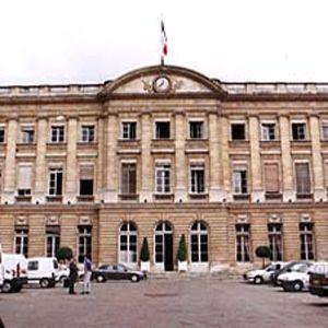 Voorkant van het Palais Rohan