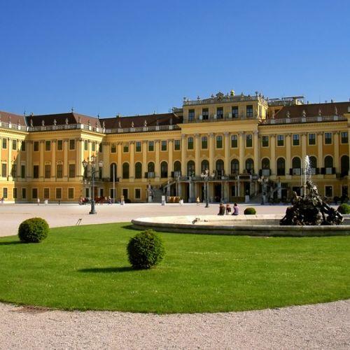 Tuin van het Schönbrunnpaleis