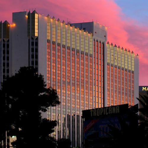 Gebouw van het Tropicana Hotel Casino