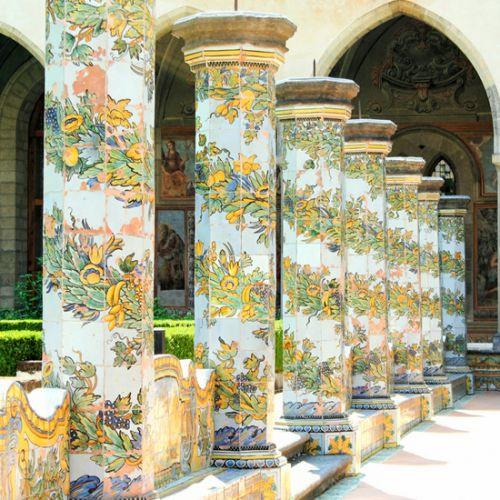 Zuilen in Santa Chiara