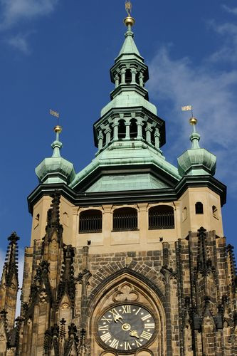 Toren in de Praagse Burcht