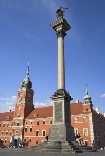 Zuil in Warschau