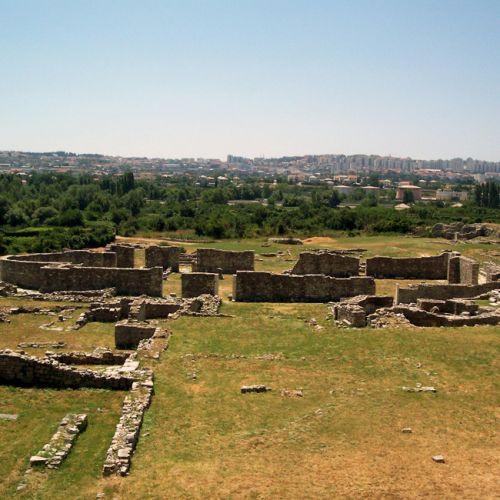 Ruïnes in Solin