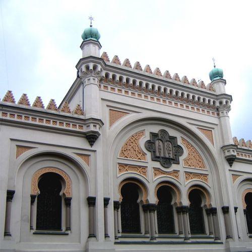 Beeld van de Spaanse synagoge