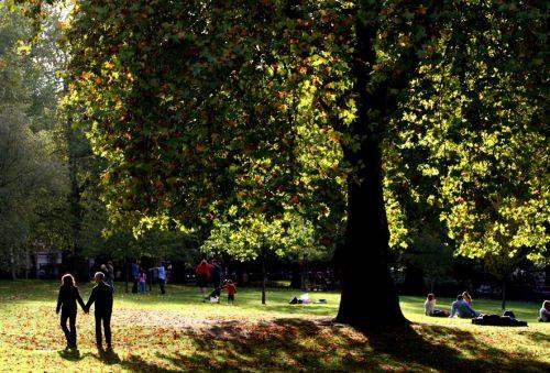 Mensen in St. James's Park